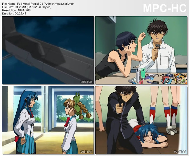 Full Metal Panic! CAPTURAS