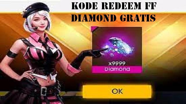 Kode Redeem FF Diamond Gratis