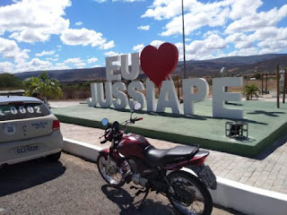 Motocicleta é recupera em Jussiape