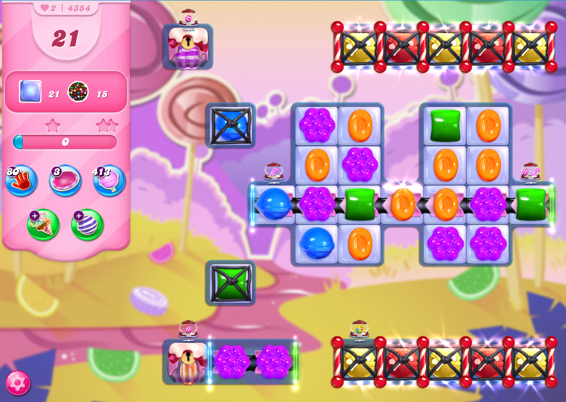 Candy Crush Saga level 4354