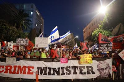 Netanyahu critica a mídia por protestos pedindo sua renúncia