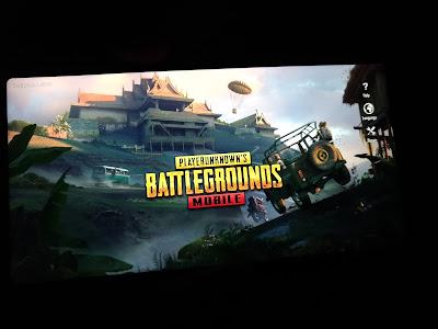 Game PUBG pada Zenfone Max Pro M1