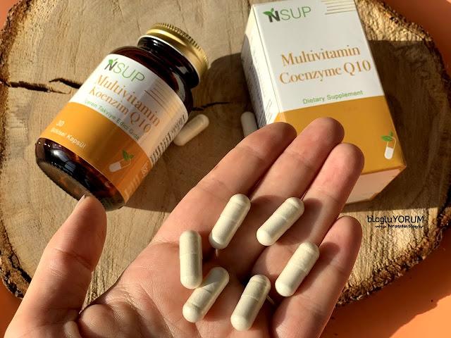 nsup multivitamin koenzim Q10 içeren takviye edici gıda 3