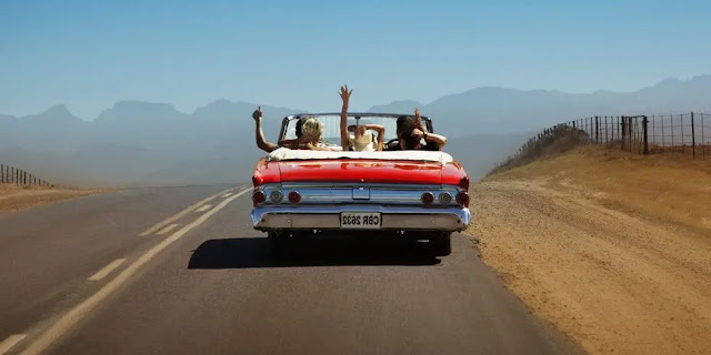 3. Drive a car and enjoy the travel