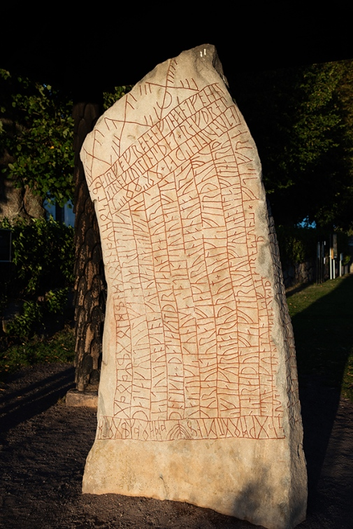 The Vikings erected runestone out of fear of climate catastrophe