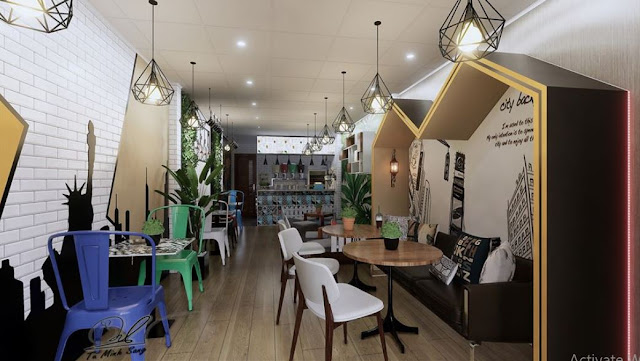 Restaurant Sketchup Interior Scene , 3d free , sketchup models , free 3d models , 3d model free download