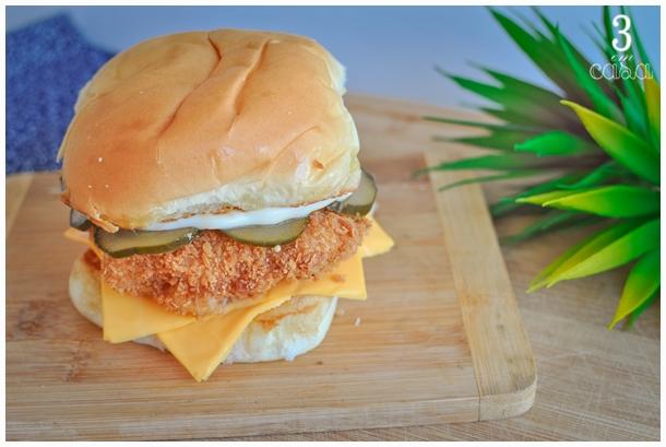receita de hambúrguer de peixe