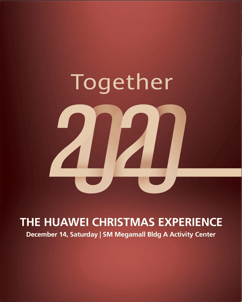 Huawei announces great deals at Together 2020 Christmas promo