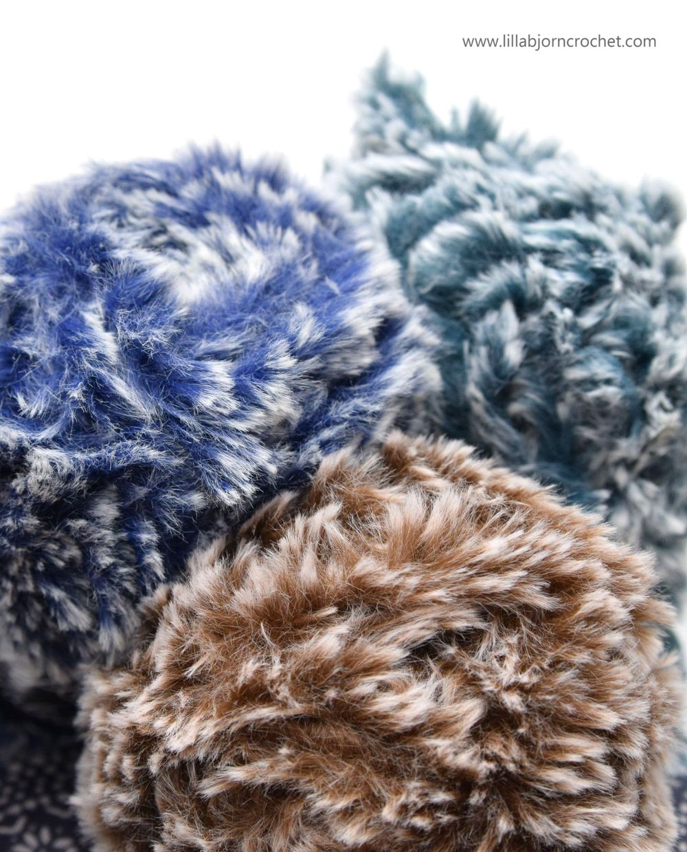 brand new faux fur yarn