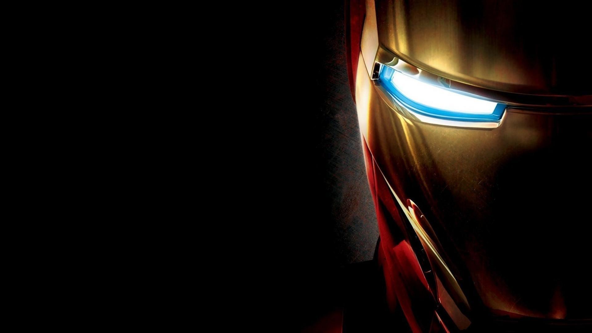 Iron Man simple Face | Full HD Desktop Wallpapers 1080p