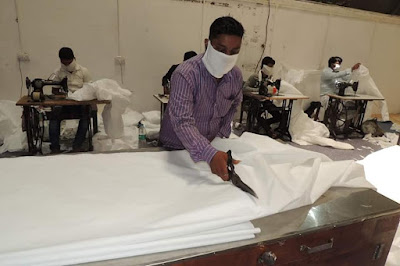 Kharagpur Workshop Is Now Manufacturing PPE For Our Corona Warriors.
