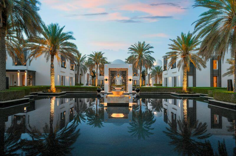 The Chedi Muscat in Oman and The Chedi Al Bait, Sharjah