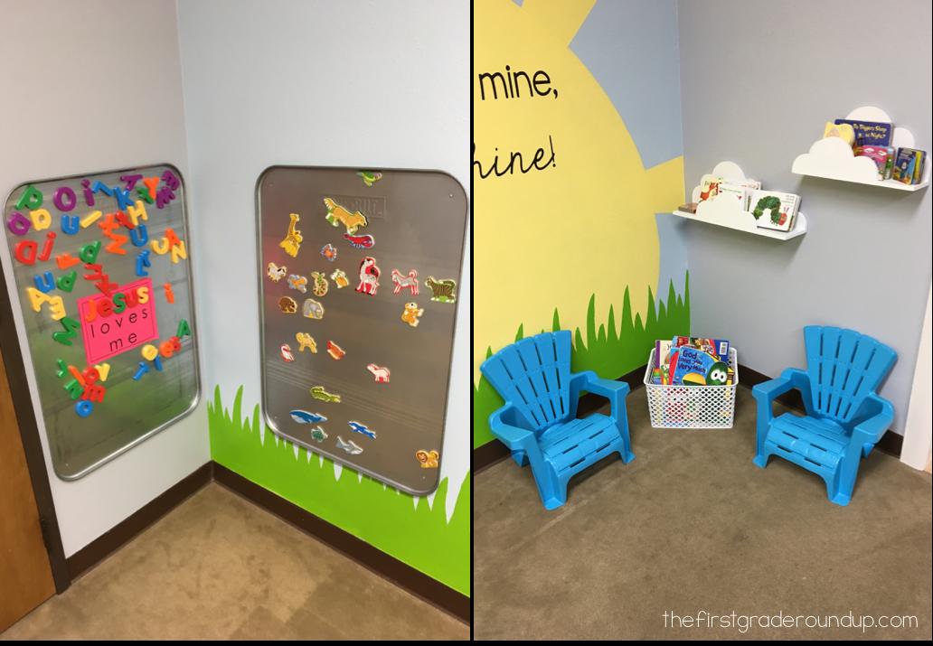 Church Nursery Remodel Firstgraderoundup
