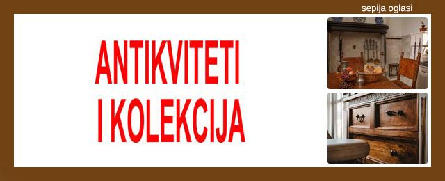ANTIKVITETI I KOLEKCIJA SEPIJA OGLASI - 4.