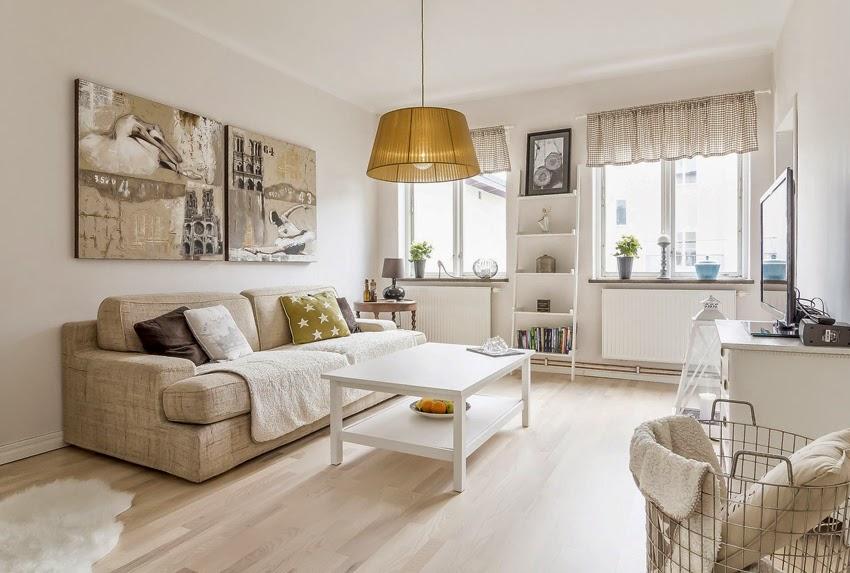 Hogares frescos c lido dise o interior de un hogar en suecia for Diseno de interiores hogares frescos