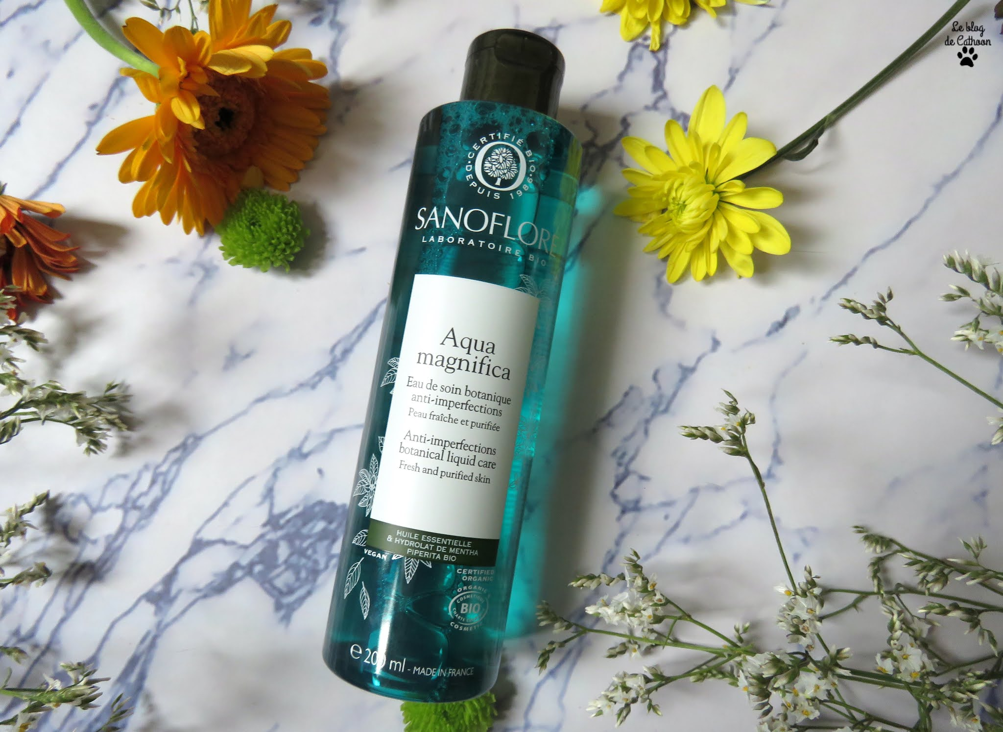 Aqua Magnifica - Eau de Soin Botanique Anti-imperfections - Sanoflore