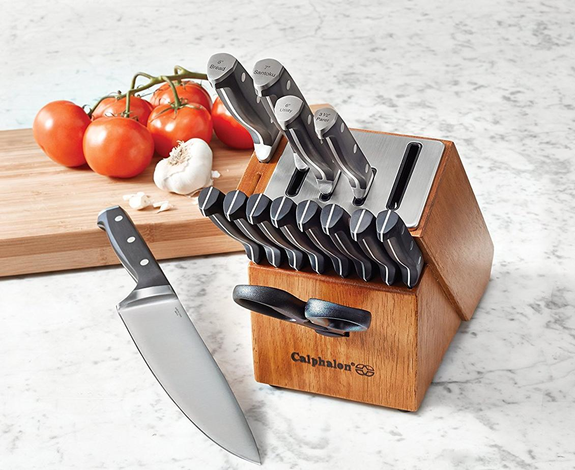 Calphalon Self Sharpening Knife Block