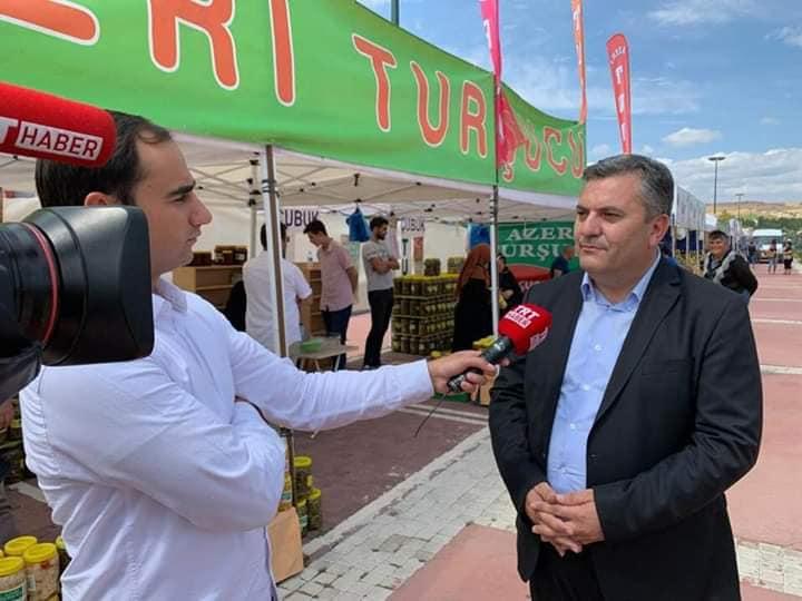 Çubuk Belediye Başkanı Av. Baki Demirbaş ile trt haber Röportajı