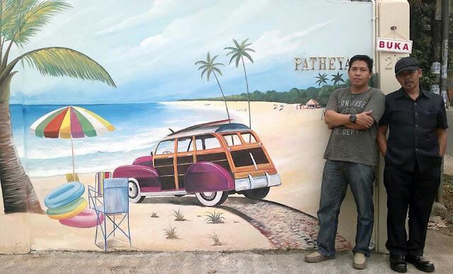 Contoh Lukisan Mural Dinding
