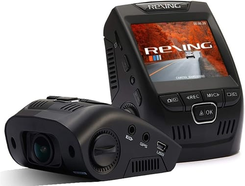 Review Rexing V1 Basic Dash Cam FHD DVR Car