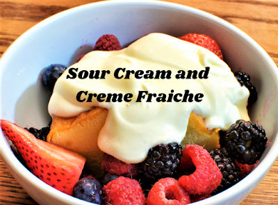 Creme Fraiche on Berries