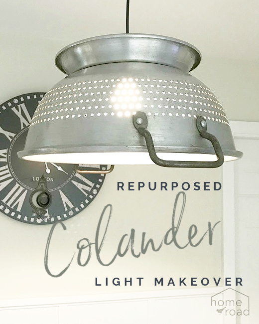 colander light with overlay