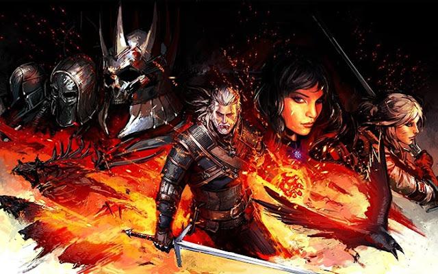 Witcher 3 + Music Wallpaper Engine