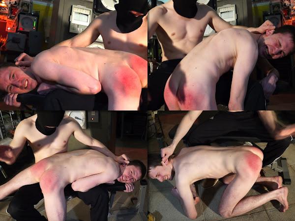 #RusStraightGuys - Worker Pasha 25 y.o. Hand spanking