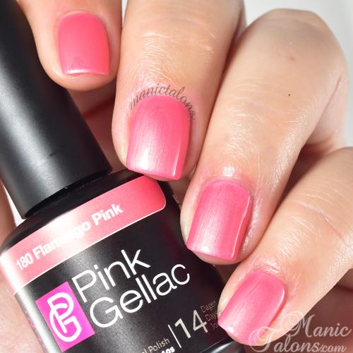 Pink Gellac Flamingo Pink Swatch