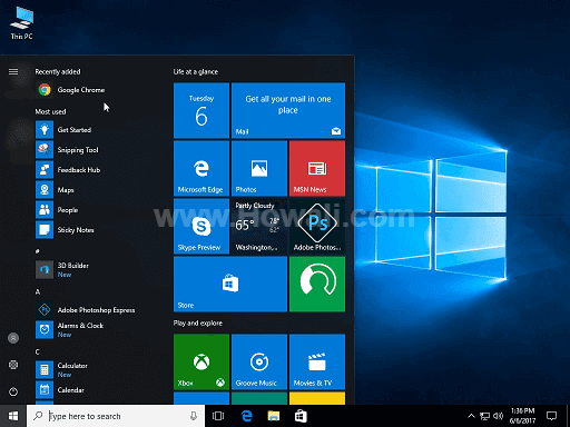 Windows 10 Virtual machine