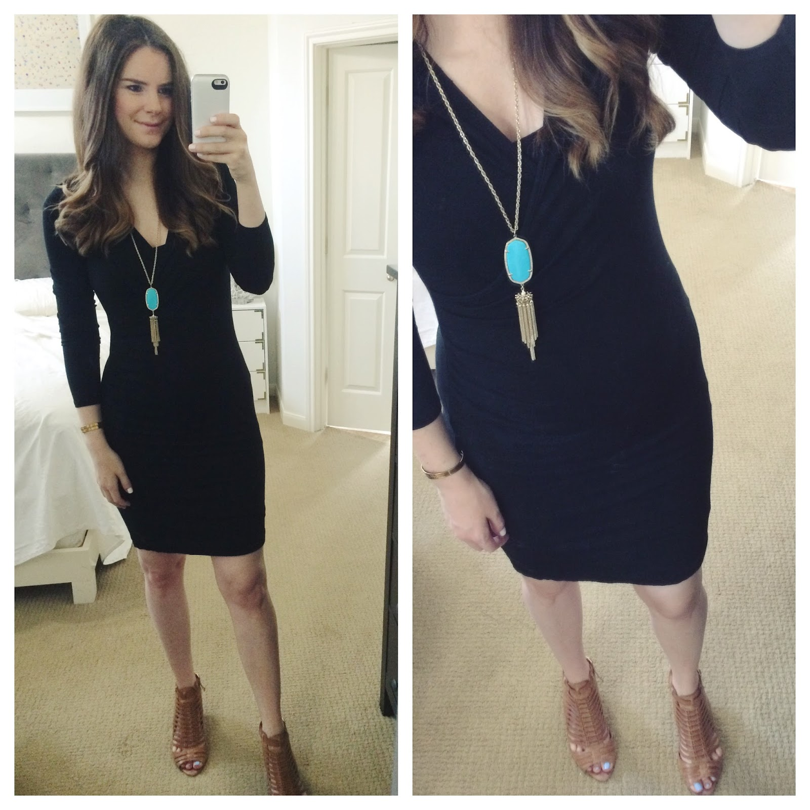 The Perfect Black Dress (For Pregnancy & Post Baby!) - Veronika\'s ...