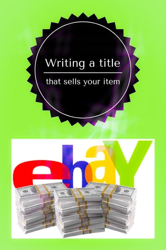 eBay Title Writing Tips