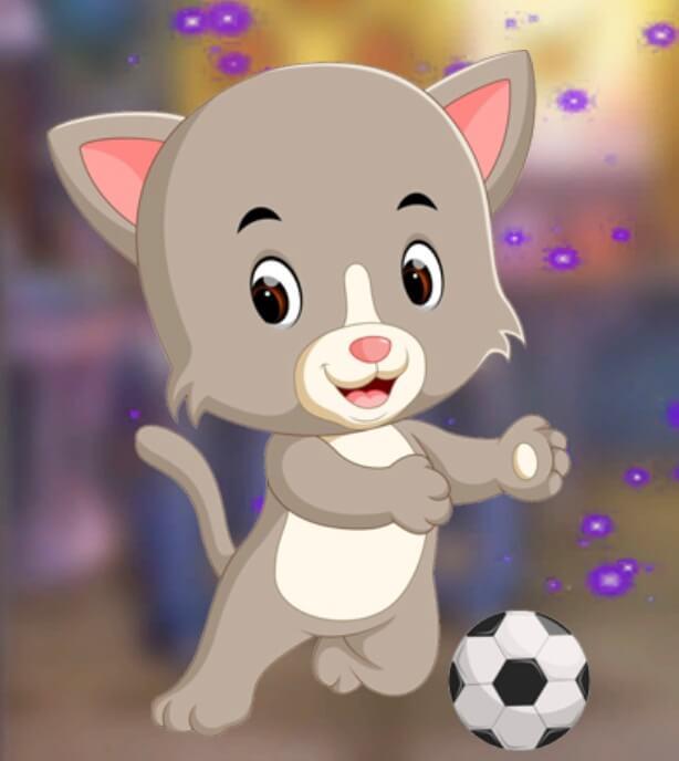Games4King Playing Cat Es…