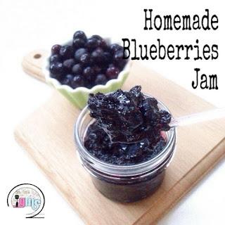 Ide Resep Membuat Homemade Blueberries Jam (Selai Blueberry)