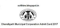 Chandigarh Municipal Corporation Admit Card