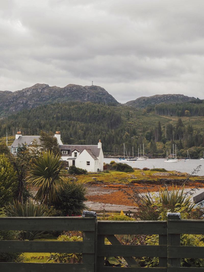Road trip dans les Highlands écossais : le village de Plockton
