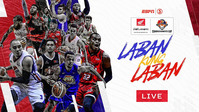 PBA Live Streaming, Schedule, Standings, Results and Replays (Commissioner's Cup)