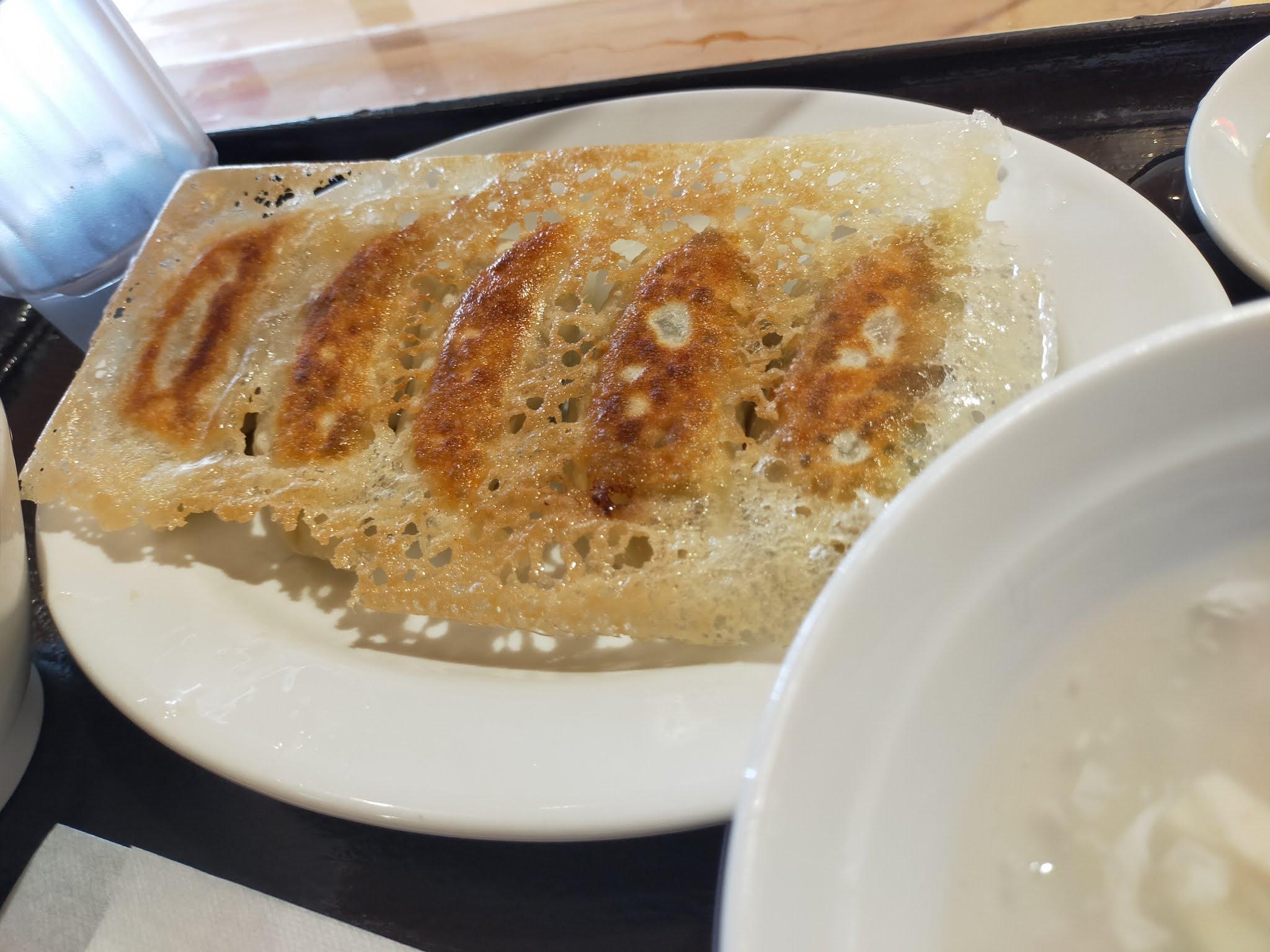 東京餃子軒の餃子。