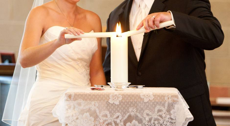 Cerimônia de Casamento Com o Ritual da Vela da Unidade e Esboço de Sermão