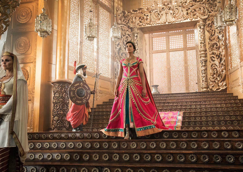 Aladdin 2019 - Naomi Scott  es la princesa Jasmine