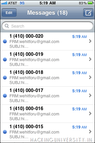 Online SMS bomber::: Working - DailyHacks