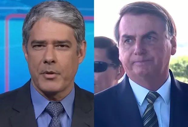 William Bonner usa o Jornal Nacional para criticar Bolsonaro