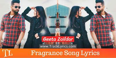 fragrance-lyrics-punjabi-song