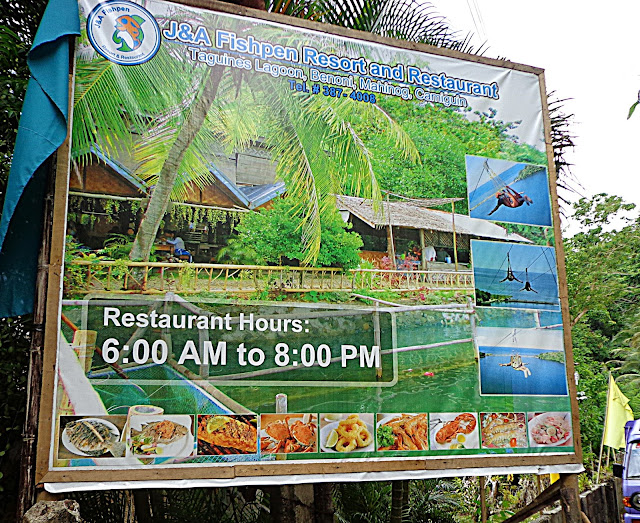 J&A Fishpen Resort, Taguines Lagoon, Camiguin
