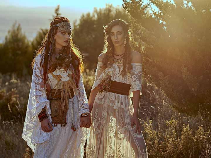 peinados de novia originales 2020