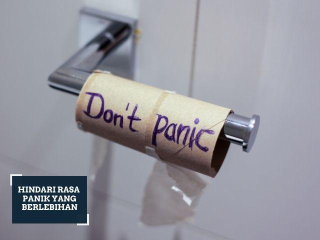 cara agar tidak panik