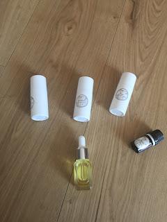 Sérum protecteur pou les cheveux réalisé à partir des ingrédients et du matériel contenus dans la box formule beauté de juillet 2019