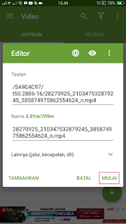 Cara Download Video Di Android Dengan ADM