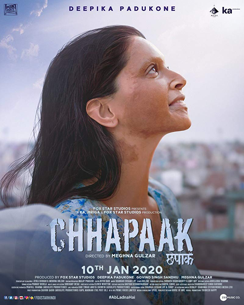 Chhapaak (2020) Movie Review, Cast, Trailer and Release Date