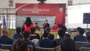 Ribka Tjiptaning Sosialisasi kan Empat Pilar MPR RI